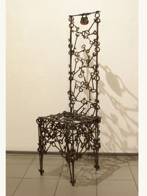 Трон твоего пути. The throne of your path. Commission sculpture- Sculptor Dmitry Iv