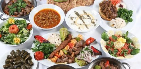 Köstliche türkische Küche