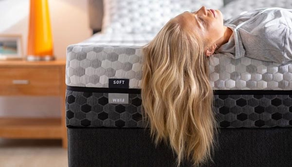 The Layla Sleep Mattress. Soft and Firm. Two mattresses in one