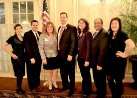 Photo of the Morris County Bar Association Executive Board