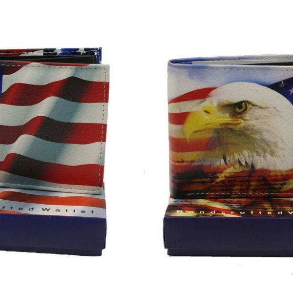 USA Flag Wallets