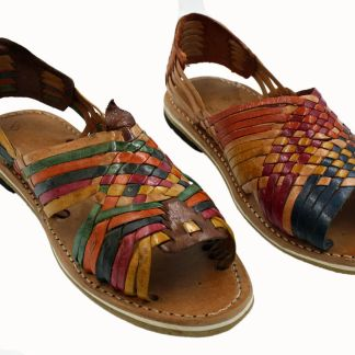 Mexican Multi Colored Sandals