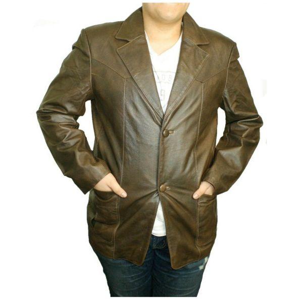 Men Brown Coat