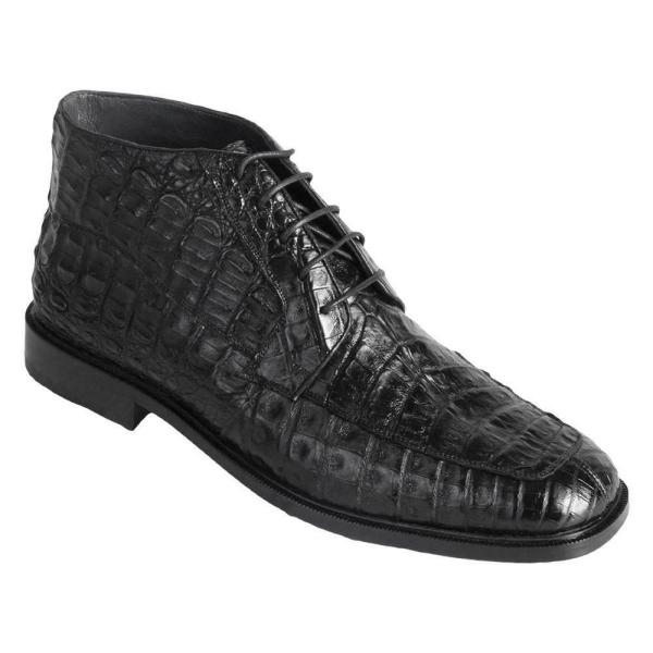 Men Caiman Belly Boots