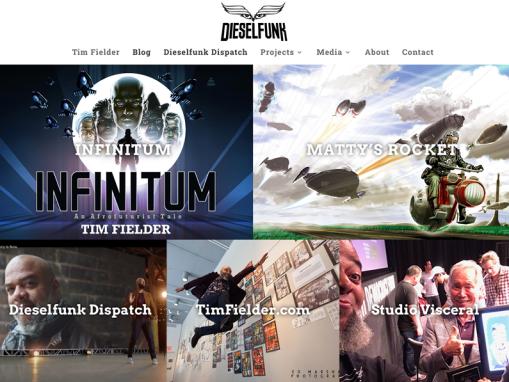 Dieselfunk Studios Website