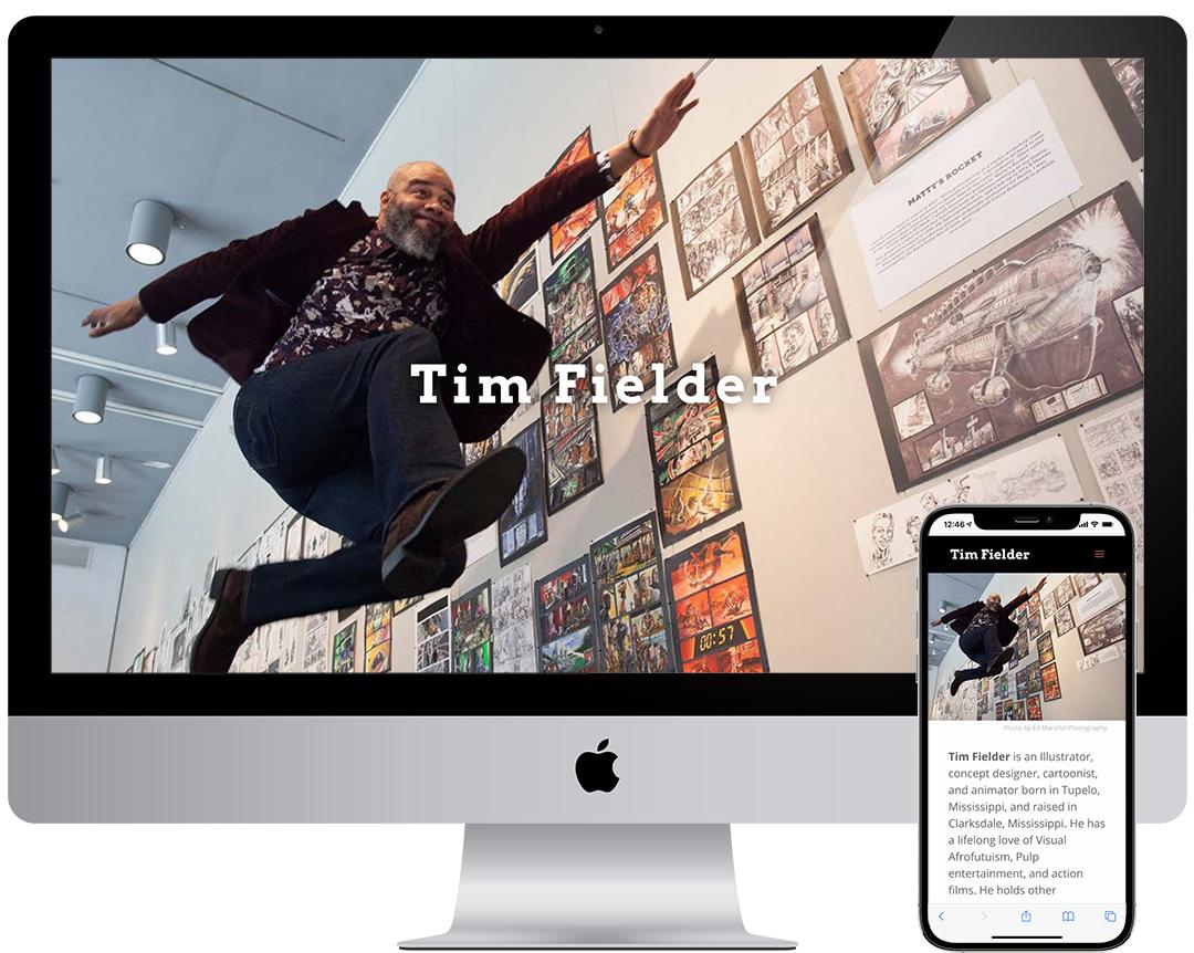 Tim Fielder Website