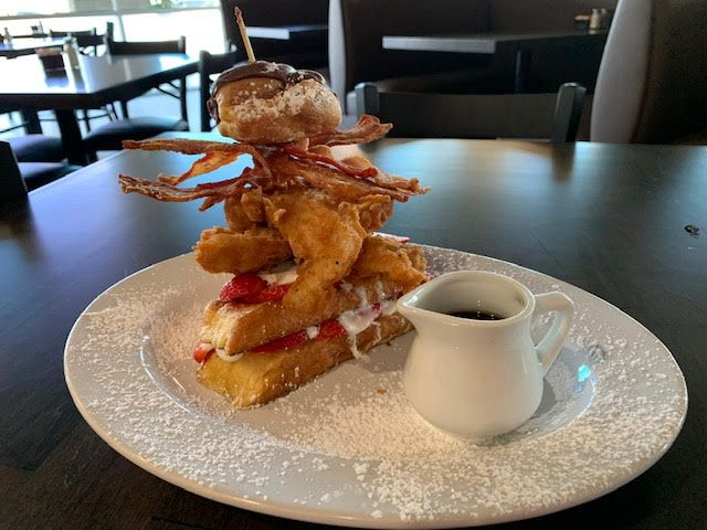 Maple Bacon restaurant in Plano serves breakfast all day.