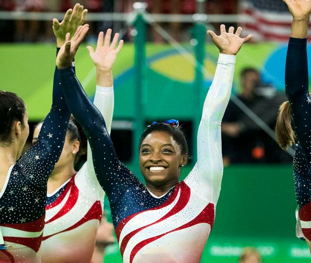 Texas Gymnast Simone Biles Slams Teammate Who Said Women In Sexy