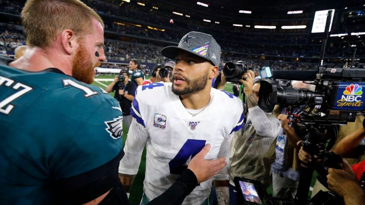 Conversation's over: Cowboys QB Dak Prescott is a better player than the  Eagles' Carson Wentz -- easily