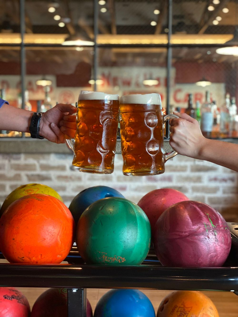 Bowl and Barrel is  offering half-price full-liter steins of beer for Oktoberfest, through Oct. 26.