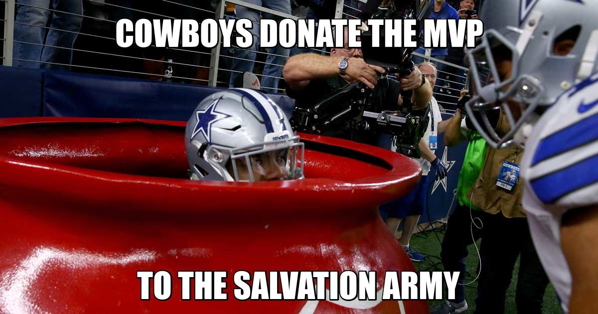 The Best Fan Made Memes From This Season S Cowboys Games