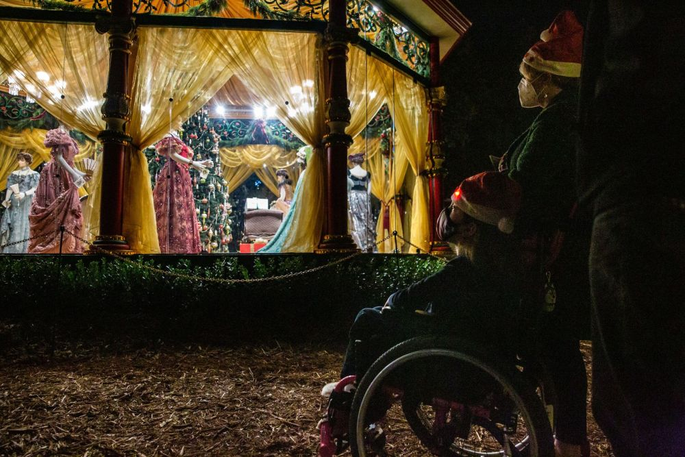 "The Dallas Arboretum's ""The 12 Days of Christmas"" display is now open for day and nighttime viewing."