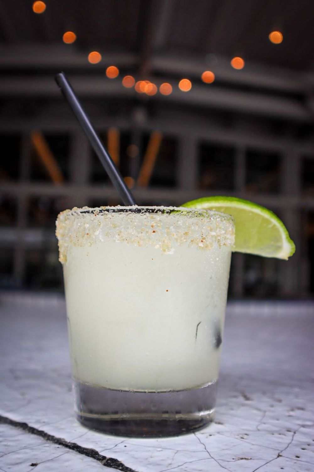Squozens are a popular drink order at Jose in Dallas. The name is a combination of fresh 'squeezed' juice + 'frozen' margarita.