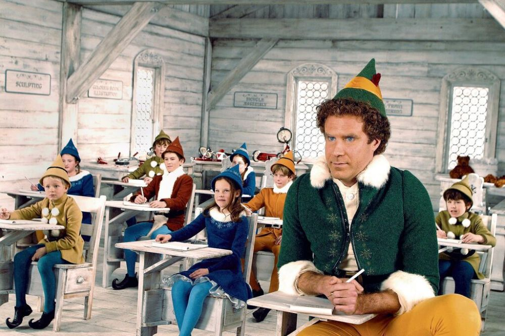 """Will Ferrell stars as Buddy in classic holiday flick """"Elf."""""""