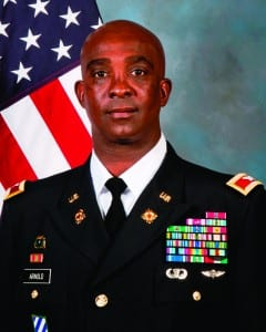 Col. Joe E. Arnold, commanding officer of DLA Pacific