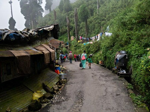 On the Tenzing Norgay Road between Darjeeling and Ghum (Ghoom)