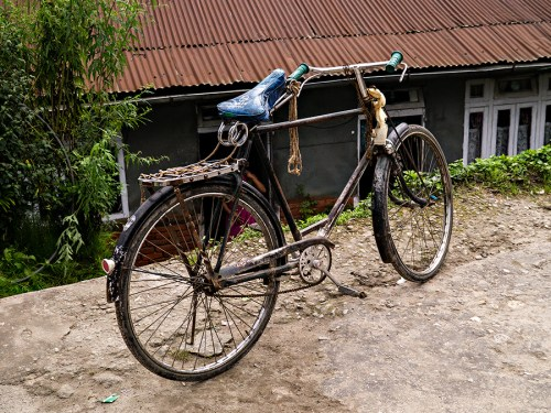Classic Indian bicycle