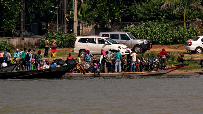 The Satapada - Barkul 'ferry'