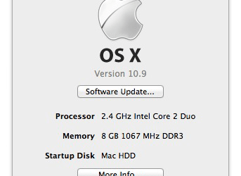 Apple OSX 10.9 Mavericks test-drive