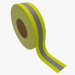 Faixa Refletiva Amarela Antichama 100% Algodão Tratado – D1995