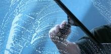 glasbewassing ramen wassen