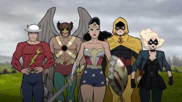 Justice Society: World War II Summary & Ending Explained 2021 Animated Film