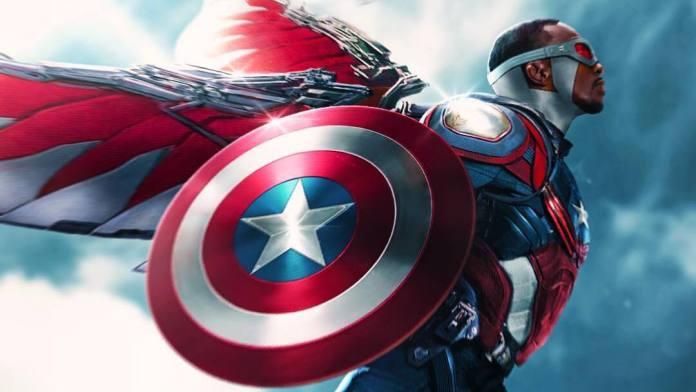 Sam Wilson The Falcon The Black Captain America