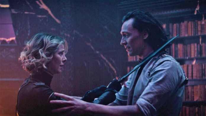 Loki Season 1 Finale Recap Ending Explained 2021 Marvel Television Series Tom Hiddleston, Owen Wilson, and Sophia Di Martino
