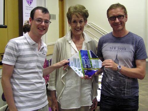 Steven Berry & Graeme Walton - Mary Hamilton Award 2014