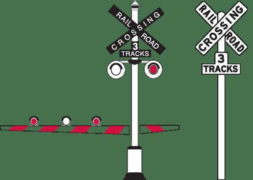 railroad crossing signals