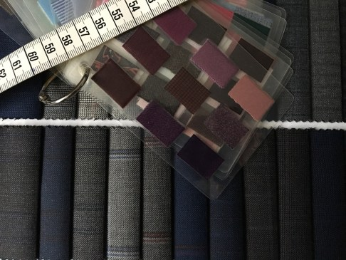 bespoke colours and fabrics
