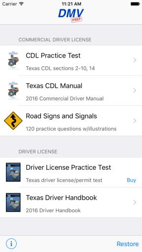 Texas CDL Prep App
