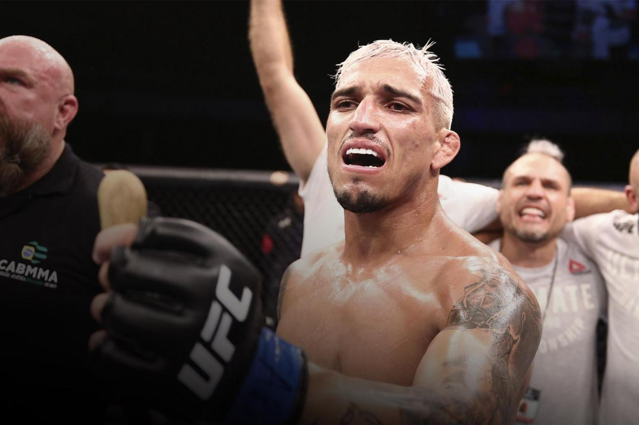 """Charles Oliveira saids that he thought about quitting MMA, but glad he didn't: """"Looking back, I see it was all worth it"""""""