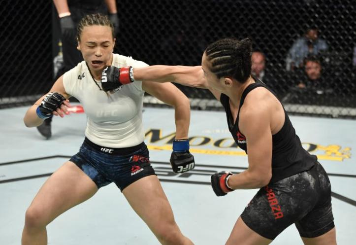 Carla Esparza knocks on the door of a Strawweight title shot if she is successful at UFC Fight Night 188 | Pintsized Interests