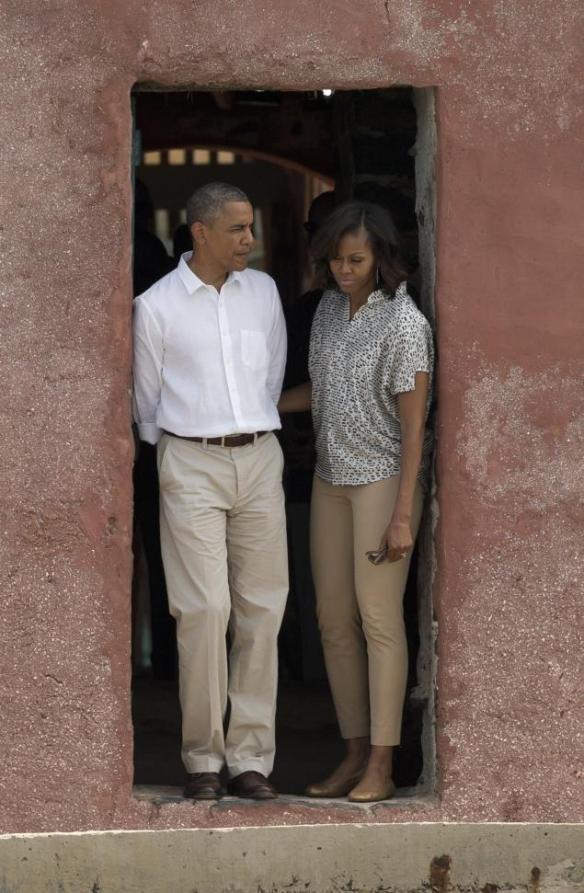 obama at door of no return