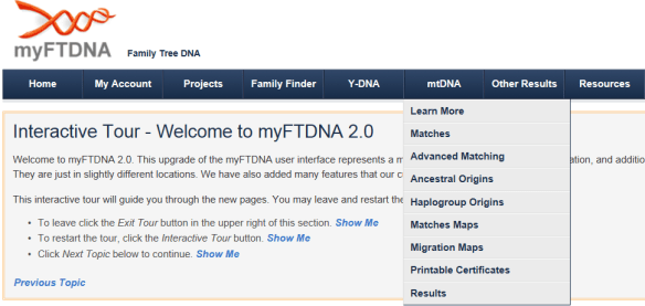 combining ftdna