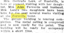 Ferverda news 1912