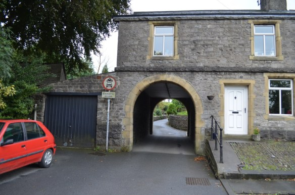 Gisburn driveway under house