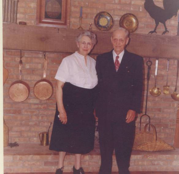 John and Edith 1959 standing