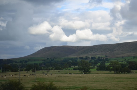 Pendle Hill first view