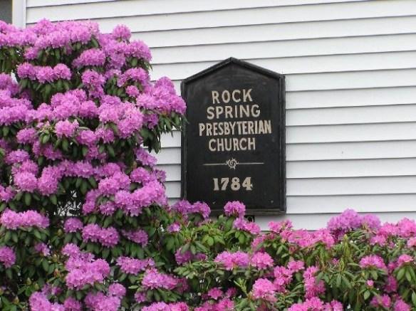 rock spring church sign