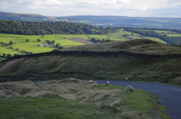 Crossing Pendle Hill