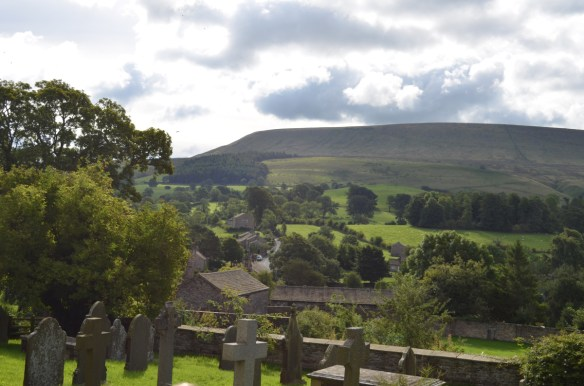 Pendle Hill from St Leonards