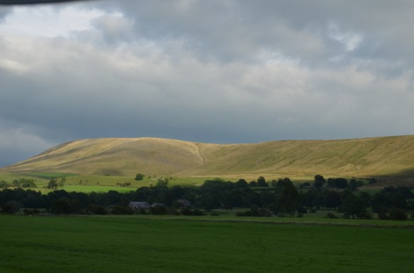 Pendle Hill near Blackho