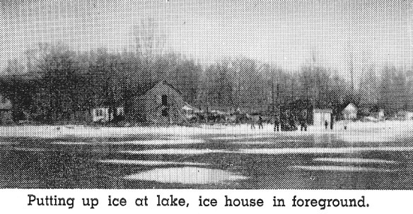 Silver Lake ice house