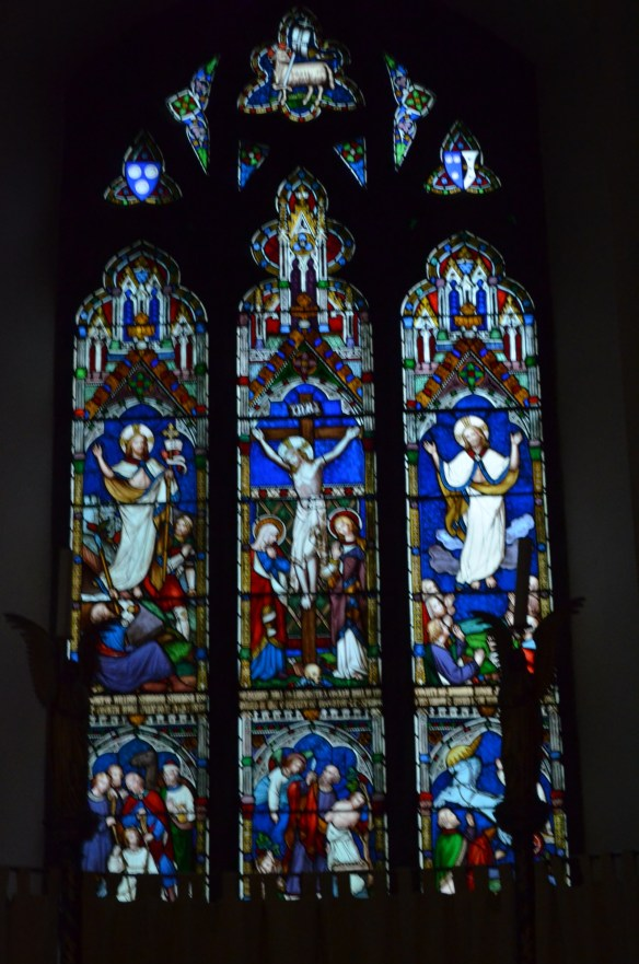 St Laurence windows