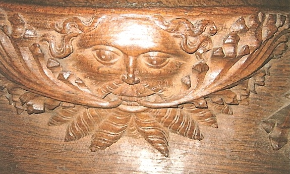 St Mary Whalley green man