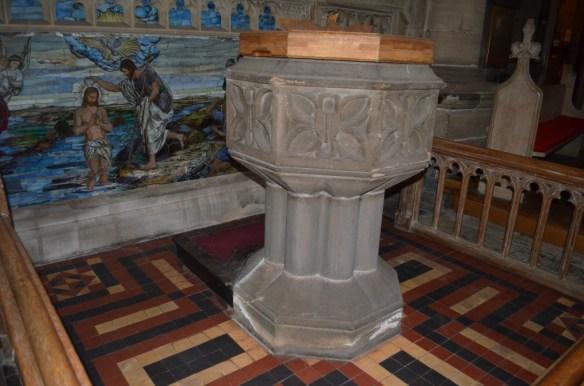 St Wilfrid bapistry close