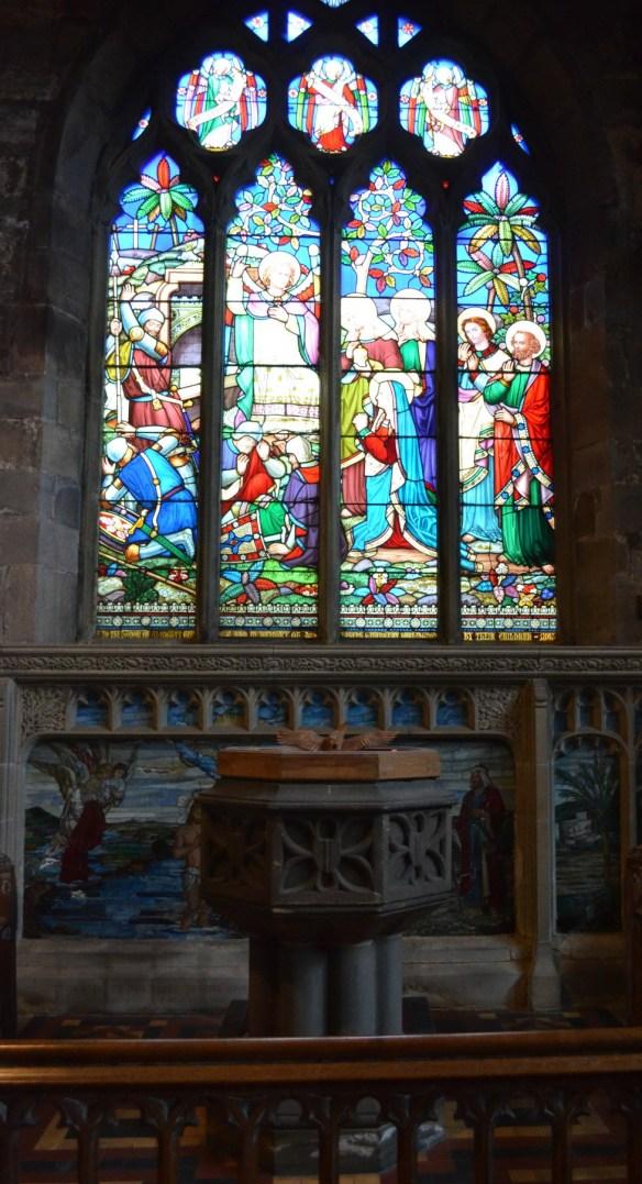 St Wilfrid bapistry