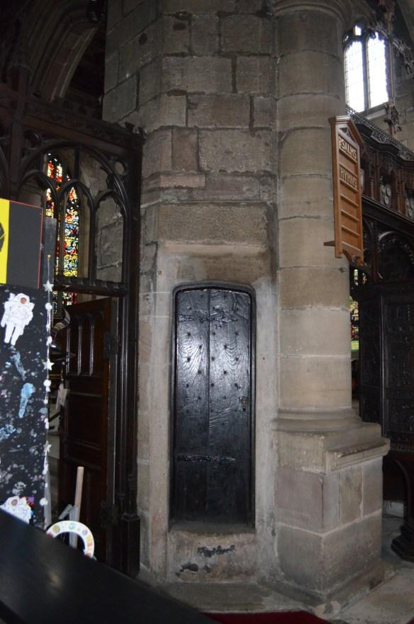 St Wilfrid stone stair